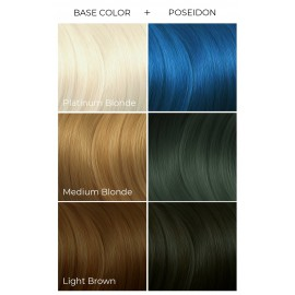 Poseidon -  Arctic Fox - Темно синяя краска для волос